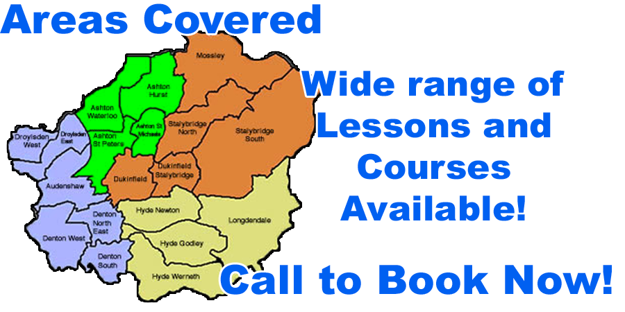 Driving lessons with Tameside Driving School